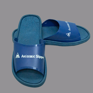 High Quality Blue Pvc Esd Slippers For Lab Antistatic Esd Slipper