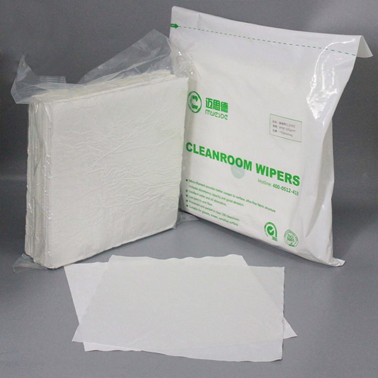 Hot Sales Soft Dustless Microfiber Cleanroom Wipers
