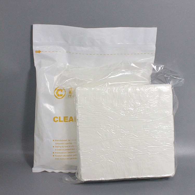 New Design 100% Polyester Industrial Cleanroom Wipe
