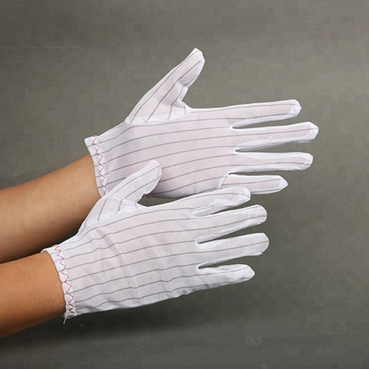 High Quality Custom Safety Protective Gloves Esd Gloves for Cleanroom antistatic gloves