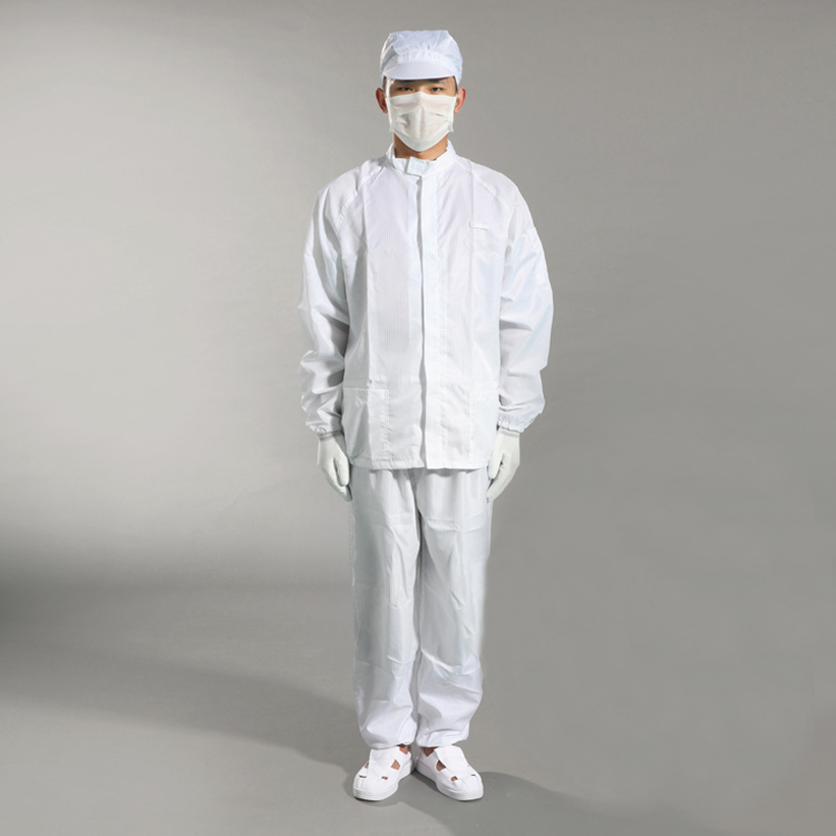 Cleanroom Protective Dust-Free Anti-Static Safety Coverall Manufacturer