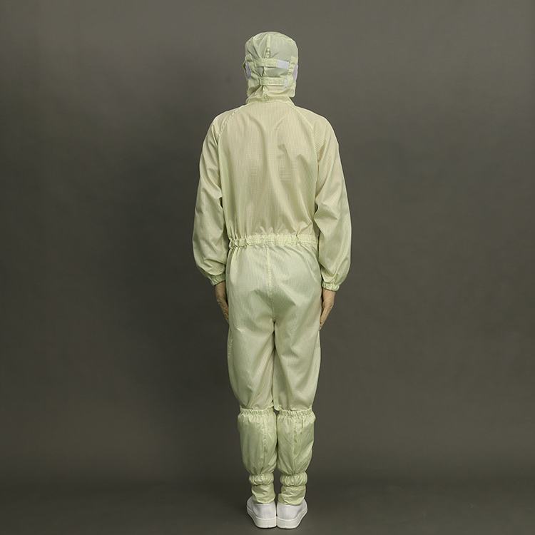 2019 Polyester Antistatic Esd Cleanroom Jacket And Pants Work Suit