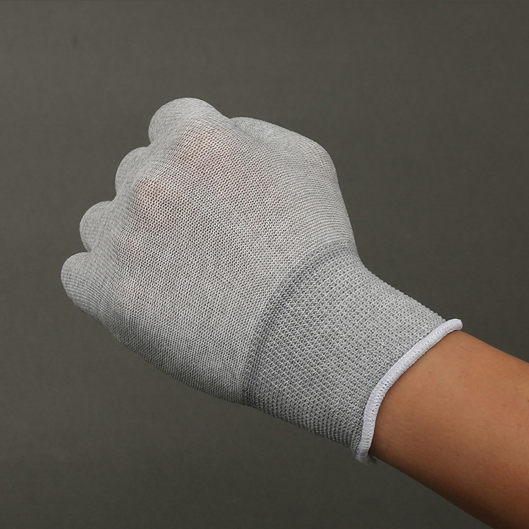 High Quality Anti Static Carbon Fiber Gloves,Esd Top Fit Safety Gloves