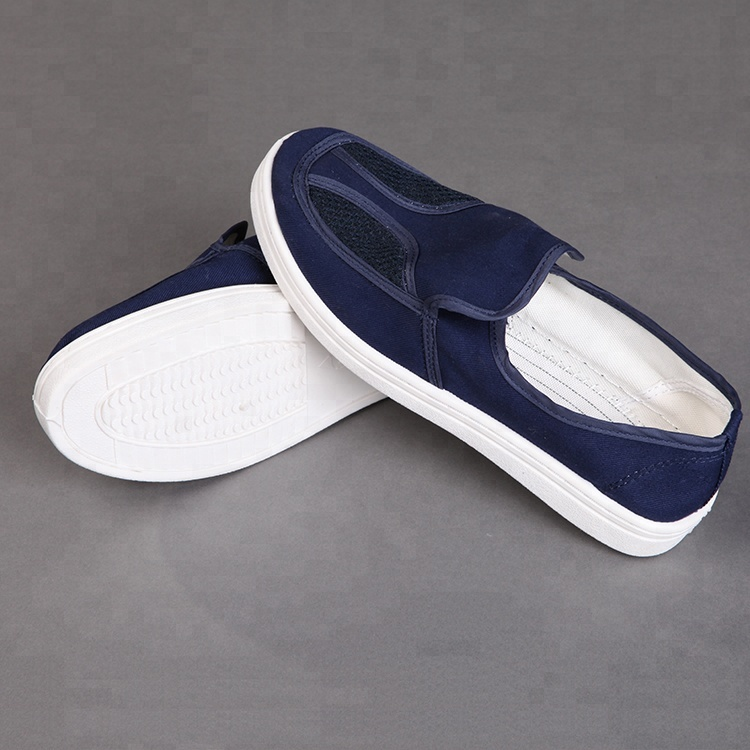 China Dust-Free Cheap Esd Safety Clean room Shoes