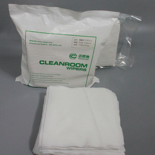 Quality Choice Lint free cleanroom class 1000 microfiber wiper