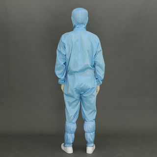 Hot selling Long Sleeve Polyester Jacket T Shirt And Pants Cleanroom Suit