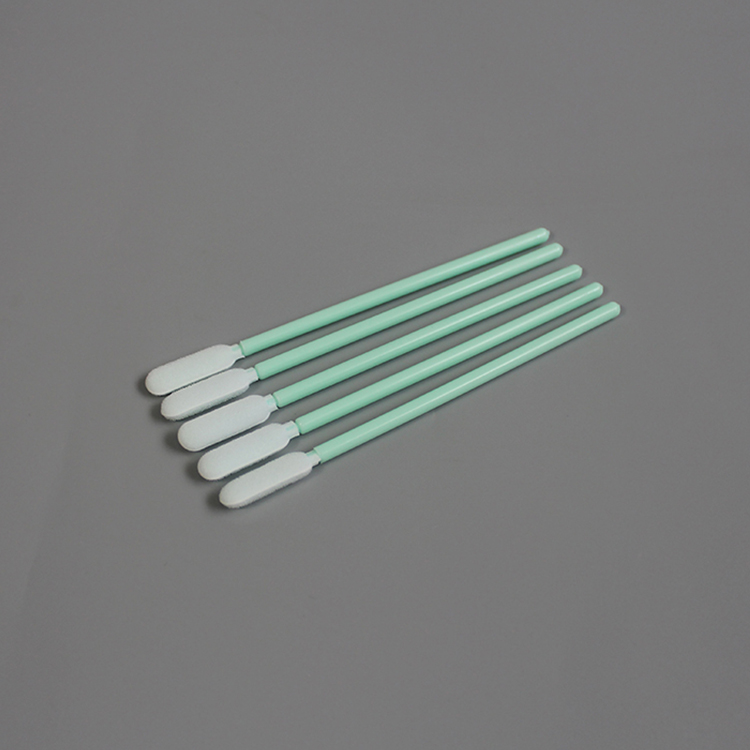 Round Tip Foam Cleanroom Swab for Thermal Print Head