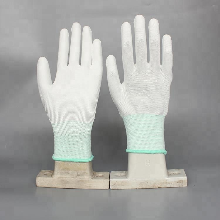 High Quality Work Pu Coated Glove,Polyurethane work gloves