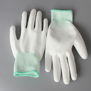 Stable Quality Pu Palm Coated Fit Gloves
