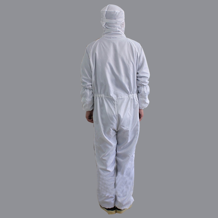 2019 Autoclavable Polyester Antistatic Esd Cleanroom Jumpsuit Coverall