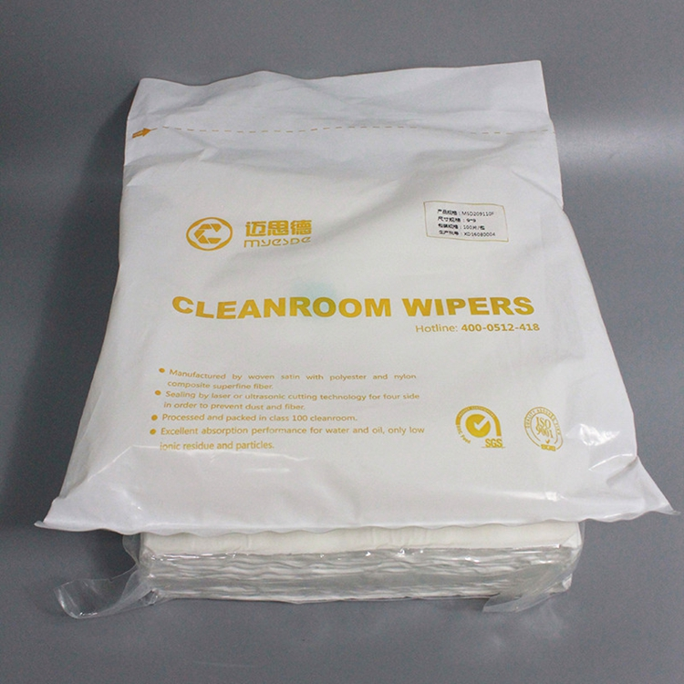 Wholesale Industry Cleanroom Polyester Wiper with CE certificate
