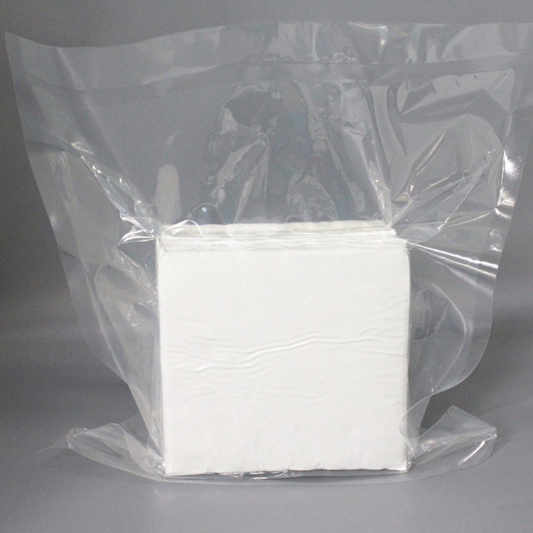 factory direct sale High Quality Microfiber white Cleanroom Wipes for Electronics Screen