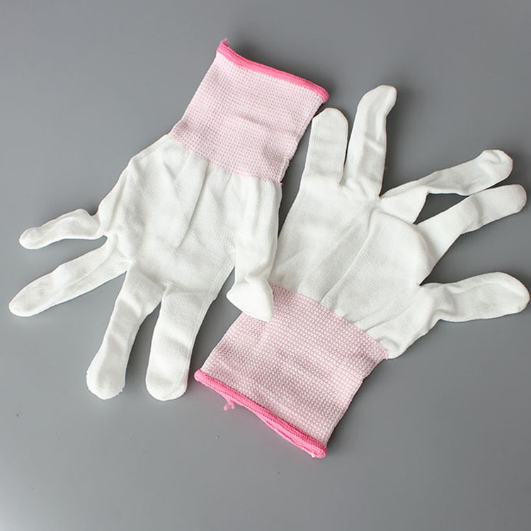 Hot Sale Seamless Esd Pu Palm Fit Coated Gloves