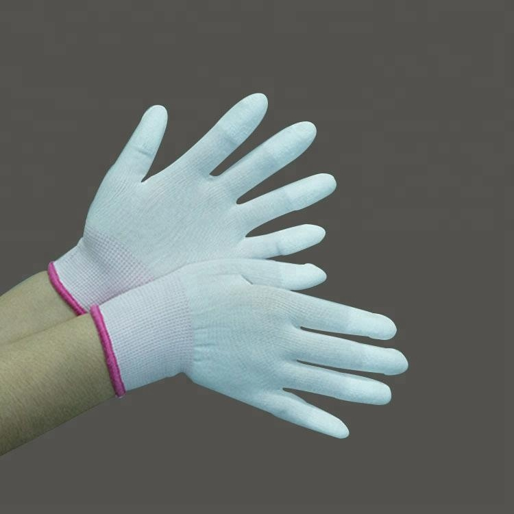 High Quality White Pu Work Gloves,Pu Coating Gloves