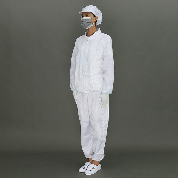 Anti-Static Cleanroom Working Safety Coverall Suit