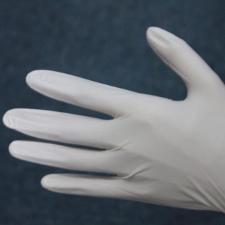 Good quality cheap disposable cleanroom blue nitrile gloves