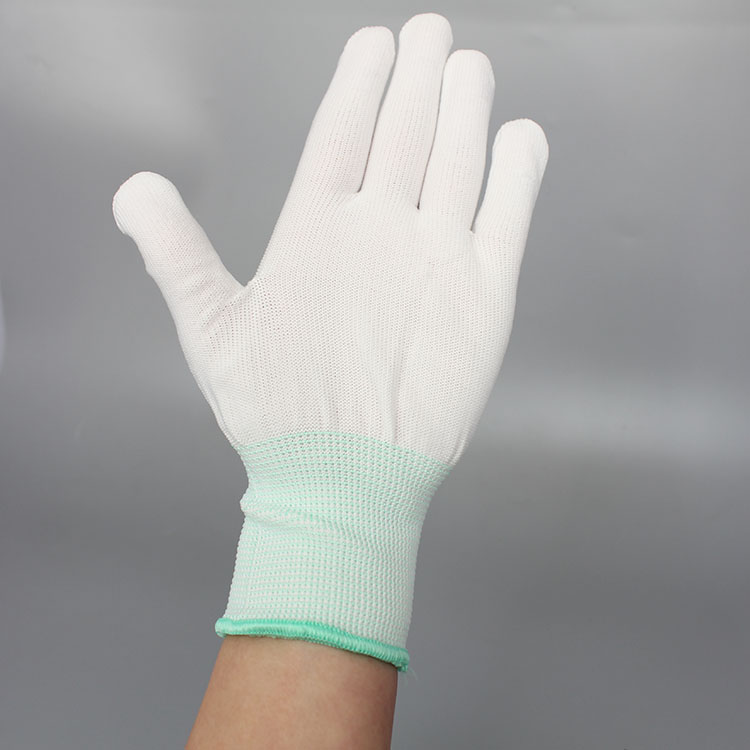 High Quality Dust Free Polyester Gloves For Cleanroom,Esd Palm Fit Safety Gloves