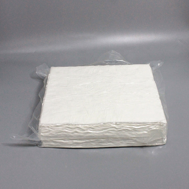 1009SLE 100% polyester Cleanroom Wiper PCB LCD Cleaning Wipes
