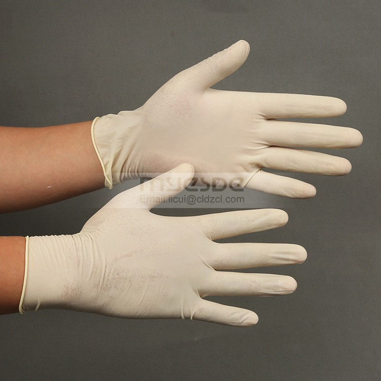 High Quality Factory Wholesale Disposable Latex Gloves Industrial Latex Gloves