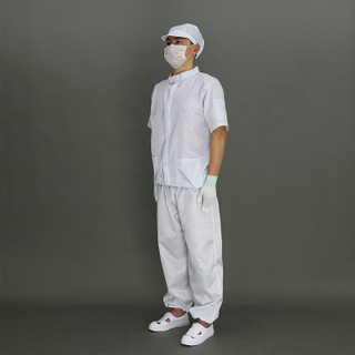 Anti-Static Esd Cleanroom Work Cleanroom Protective Coverall