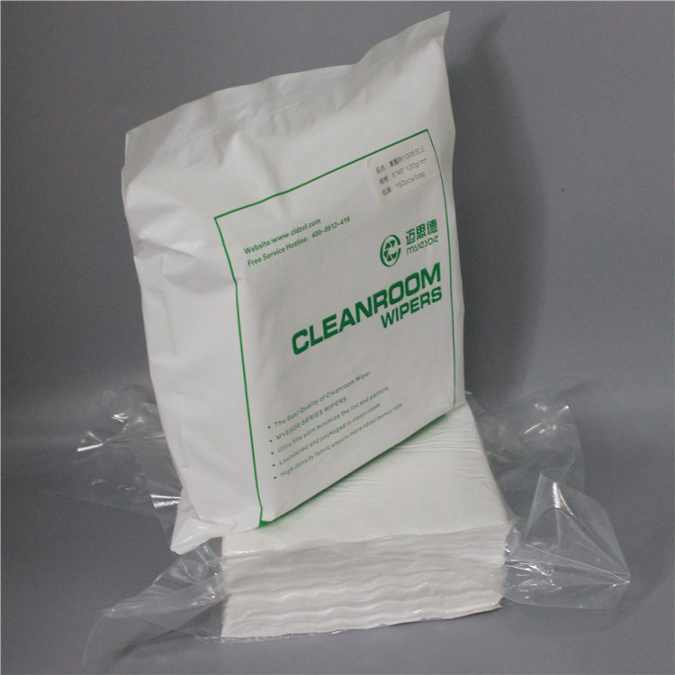Industry 100% Polyester White Cleanroom Wipe