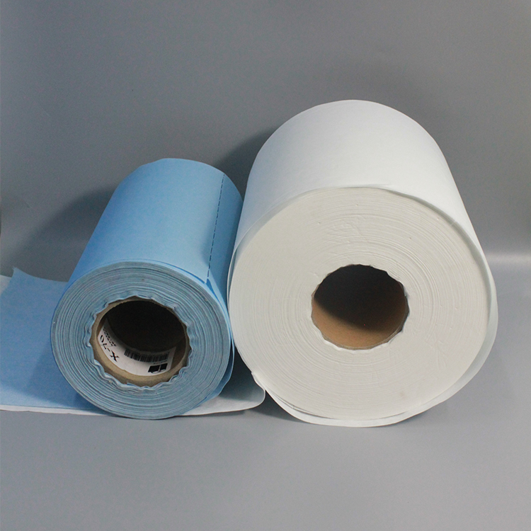 Disposable Industry Cleaning Wiping Cloth Roll Wipes Paper