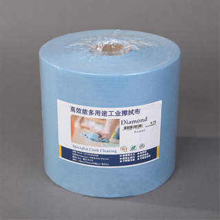 High Quality Nonwoven Industrial Roll Cleanroom Nonwoven Meltblown Wipes Paper