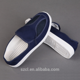 Wholesale Cleanroom PVC Outsole ESD Safety Shoes for Electronics Factory