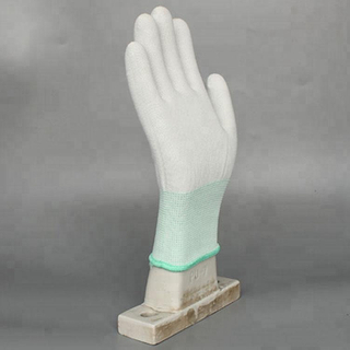 High Quality Esd Safety Knit Pu Antistatic Glove