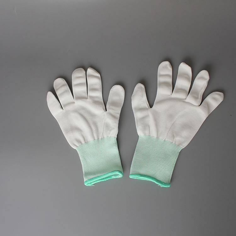 wholesale Pu Palm Fit Gloves Anti Static Work Gloves