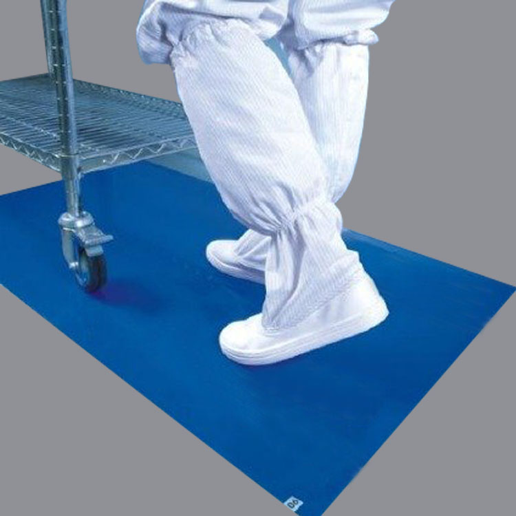 35um-Thickness-Blue-Tacky-Mat-Cleanroom-Sticky1