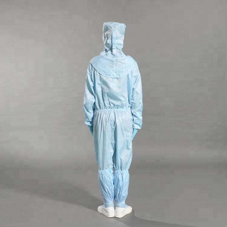 Wholesale Breathable Work Clean Room Work Safety Coverall for Anti-Static Cheap Disposable Coveralls