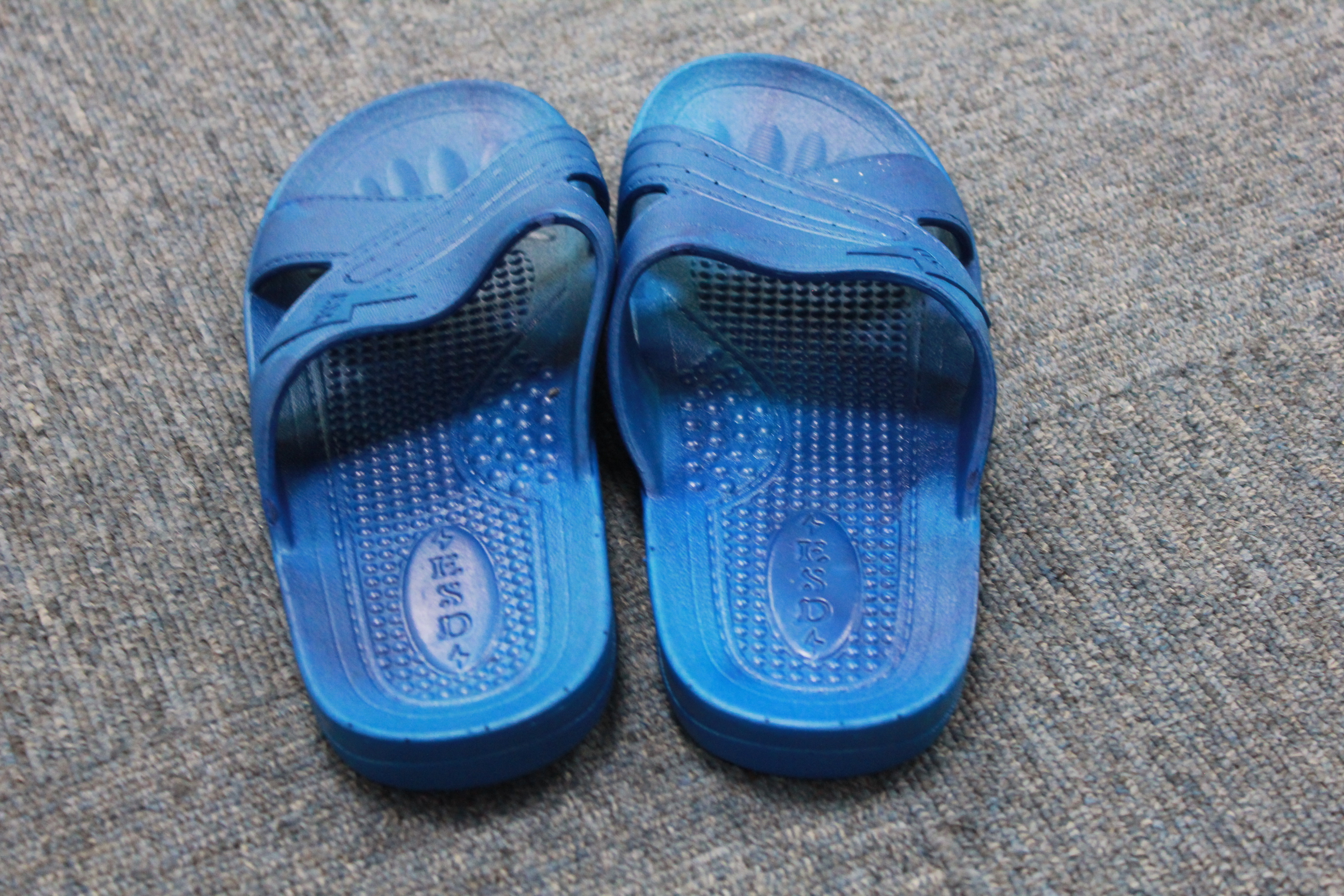 High quality Cleanroom Esd Spu Slipper Cheap Blue Pvc Esd Slippers