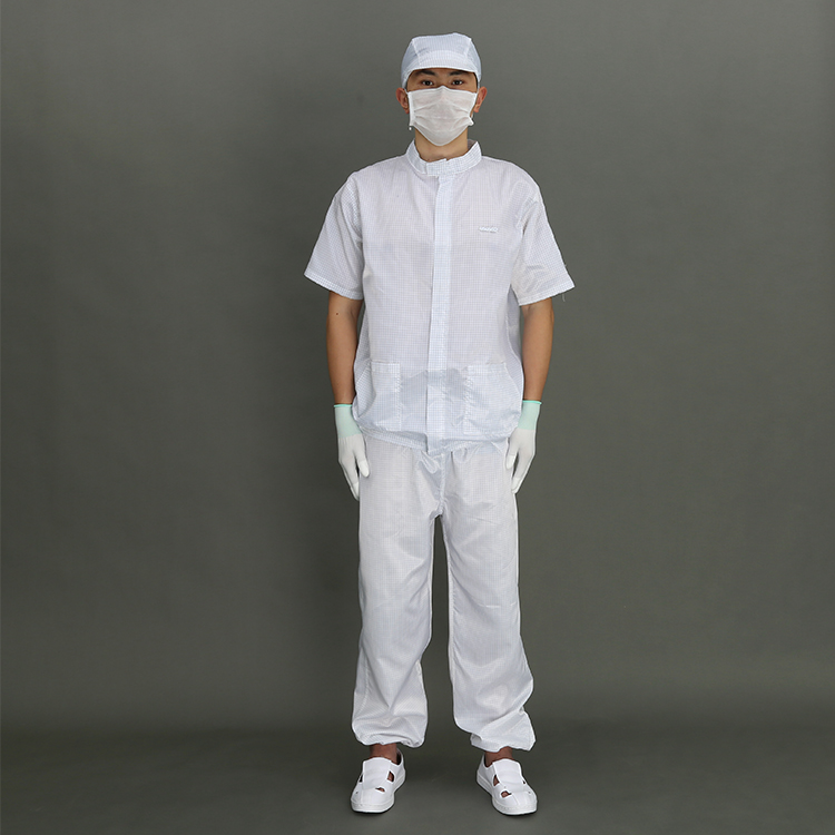 Wholesale Cheap Work Anti-Static Safety Cleanroom antistatic clothing