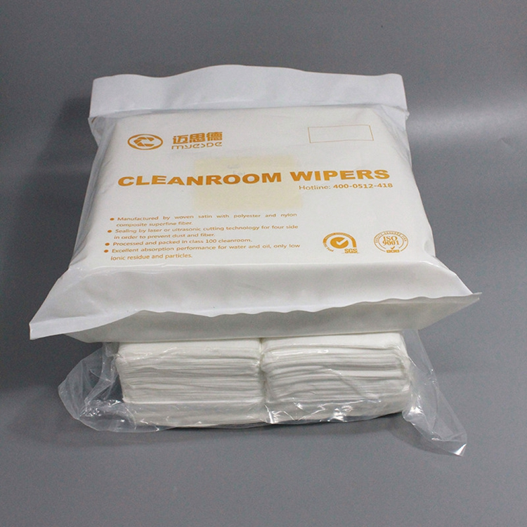 Customized Polyester Cleanroom Wiper 2091 with CE certificate