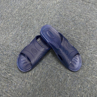 BLUE Spu Antistatic Slipper One Take 2 Holes Esd Slipper For Clean Room